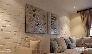 Deco Pour Salon : deco salon idee deco salon moderne 3d wallart ~ Premium-room.com Idées de Décoration