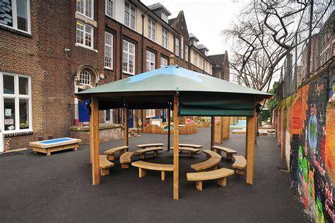 darrell gazebo outdoor classroom