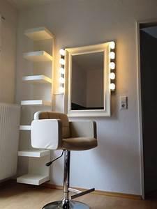 Spa Einrichtung Zuhause : schminkecke home pinterest friseursalon kosmetikstudio und schminktische ~ Markanthonyermac.com Haus und Dekorationen
