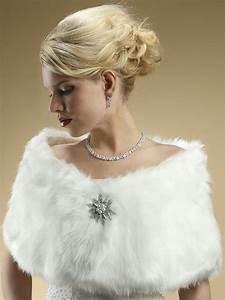 elegant faux fur bridal shawl wrap 116w elegant bridal With fur wrap for wedding dress