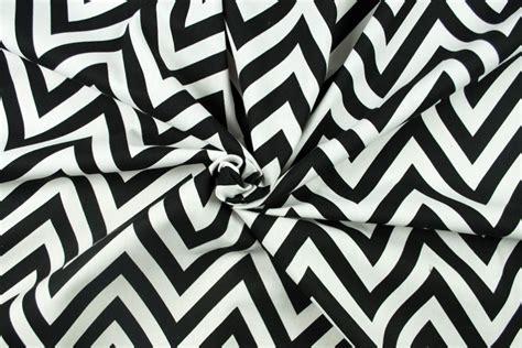 Schwarz Weiß Muster by Deko Stoff Zickzack Muster Schwarz Wei 223 Kaufen