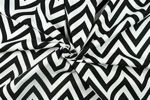 Stoff Burberry Muster : deko stoff zickzack muster schwarz wei online kaufen ~ Michelbontemps.com Haus und Dekorationen