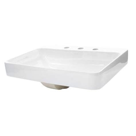 Kohler Vox Sink Home Depot by Kohler Vox Above Counter Vitreous China Bathroom Sink In