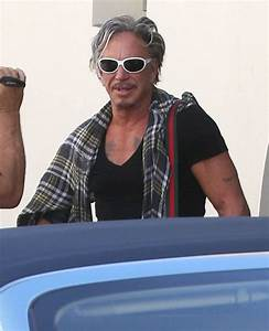 Mickey Rourke Pictures - Mickey Rourke Out For Lunch At ...