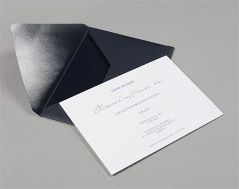 opened   matte dior homme envelope revealed  glossy