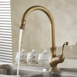 tap kitchen faucet aliexpress buy kitchen taps cozinha faucet antique brass swivel spout kitchen faucet