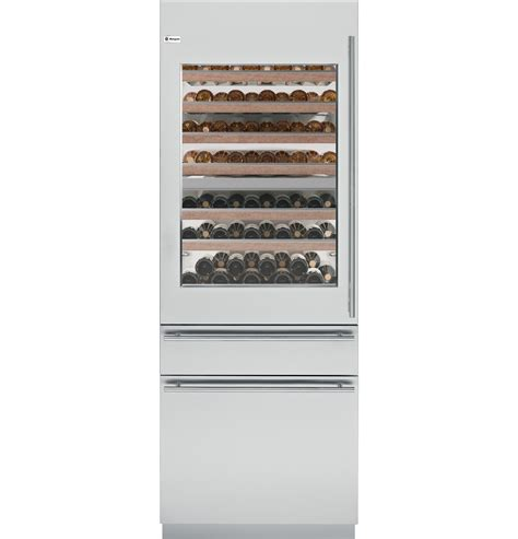 ziwgnzii monogram  fully integrated wine refrigerator  monogram collection