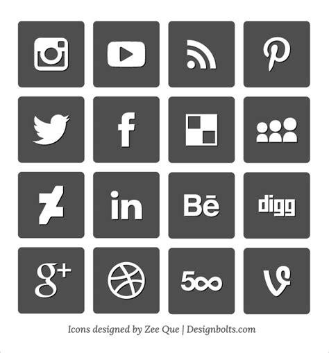 Social Media Icons Vector 10 Best Free Social Media Icons Set By Designbolts