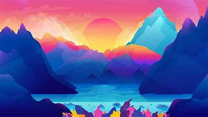 Colorful Scenery Wallpapers Graident 1080 1920