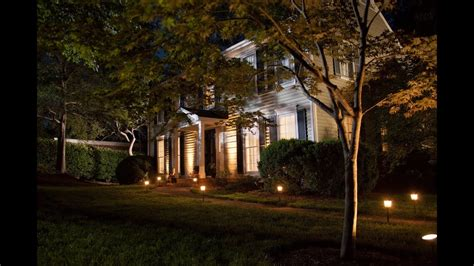 How To Install Landscaping Lighting Youtube