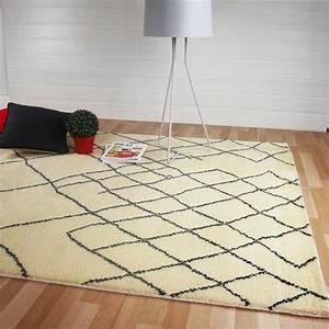 tapis moderne motifs berberes beige en laine With tapis berbere avec acheter canapé en italie
