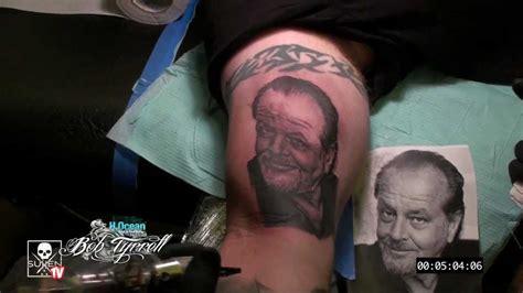 tattoo time lapse  bob tyrrell youtube
