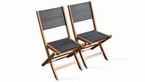 Table Et Chaise De Jardin En Bois : chaise de jardin pliante en bois ~ Teatrodelosmanantiales.com Idées de Décoration