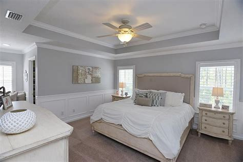 Traditional Master Bedroom With Wainscoting, Demarlos