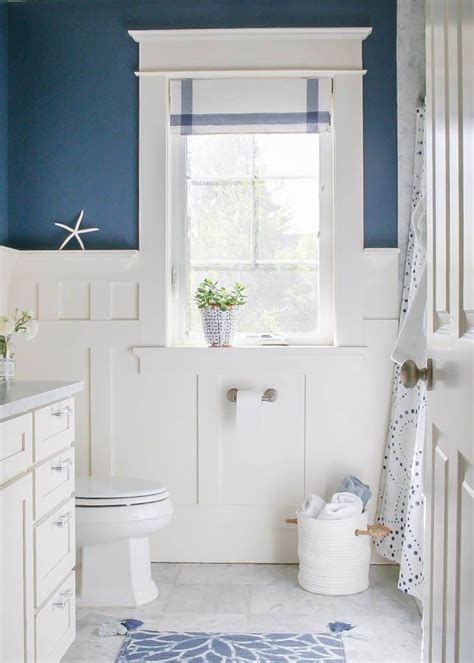 Bathroom Ideas Blue And White by Navy Blue And White Bathroom Bathrooms Bathroom White