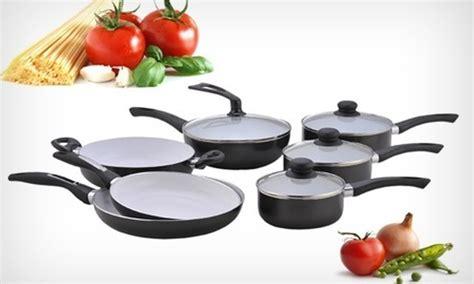 batterie cuisine ceramique batterie de cuisine céramique groupon shopping