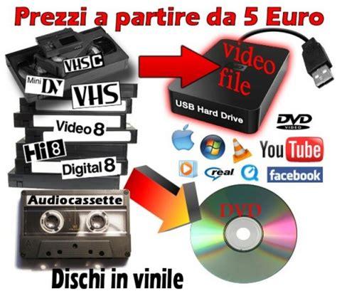 Da Cassetta A Cd by Riversaggi Duplicazioni Da Cassetta A Dvd O Cd