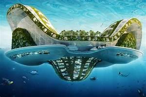 Lit Du Futur : maison du futur sous l eau meuble oreiller matelas memoire de forme ~ Melissatoandfro.com Idées de Décoration