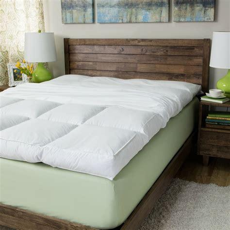 futon mattress pad size featherbed mattress topper pad 5 inch 230 thread