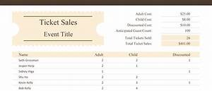 sales tracking template 5 printable spreadsheets With ticket sales spreadsheet template