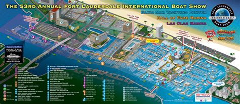 53rd Annual Fort Lauderdale International Boat Show October 25 by Fort Lauderdale Boat Show 2012 Maps Escape Key Graphics