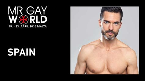 Mr Gay World 2016 - Contestant - SPAIN - YouTube