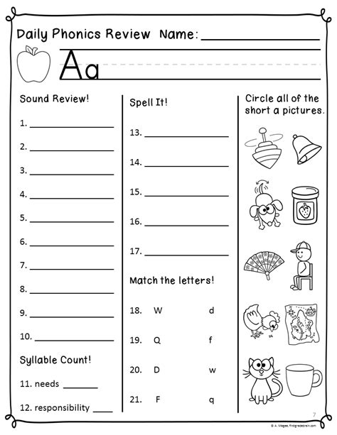 16 Best Images Of Super Teacher Worksheets Phonics  First Grade Reading Phonics Worksheets, Ch