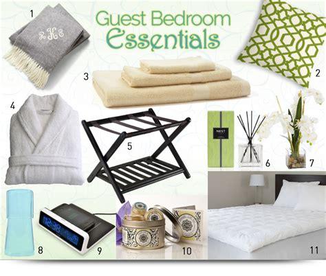 guest bedroom essentials    company feel