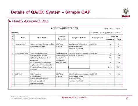 assurance bureaux quality plan template 7 7 quality assurance plan