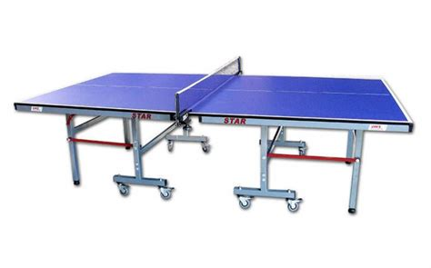 size  tennis table