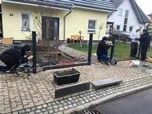 Zaun Inkl Montage : ablauf zaunbau aufbau montage zaun und tor hausbau blog ~ Watch28wear.com Haus und Dekorationen