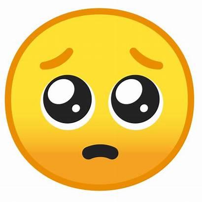 Pleading Face Emoji Emoticon Cara Emojis Google