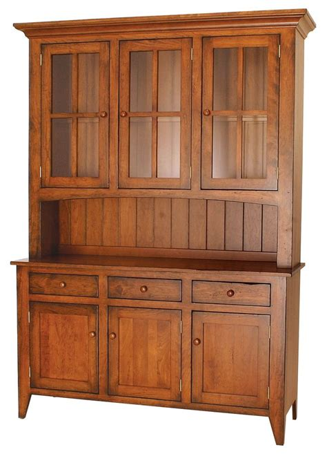 amish shaker hutch woodworking projects plans