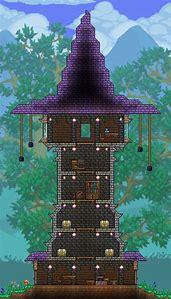 Terraria Wizard Towers House