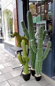 12 Great Cactus Crafts - Pillar Box Blue