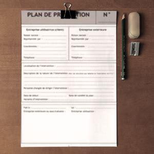 plan de pr 233 vention pour entreprise ext 233 rieure formulaire pr 233 alable 224 tous travaux dans les