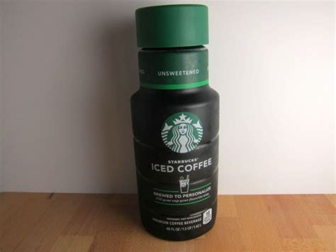 Starbucks® cold brew coffee with milk. Review: Starbucks - Bottled Unsweetened Iced Coffee   Brand Eating