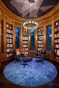 10, Home, Library, Interior, Design, Ideas