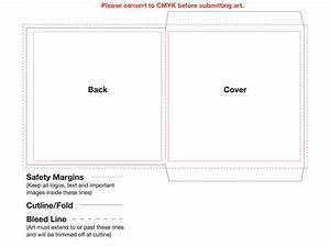 CD Digi Case 4 Panel Template for CD Duplication and CD ...