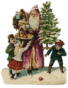 Vintage Victorian Christmas Clip Art