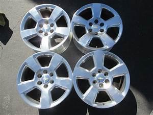 Four 2018 Chevy Silverado Ltz Factory 20 U0026quot  Wheels Oem 5652