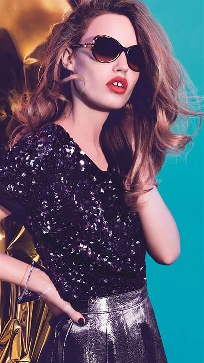 Models Georgia Jagger Blonde Glasses Celebrities Josephine