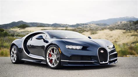 Behind The Wheel Of A Bugatti Chiron, One Of The Fastest