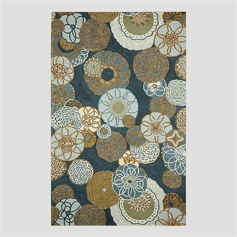 rugs world market disco indoor outdoor rug denim world market