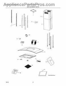 Parts For Electrolux Rh36pc60gsb  Recommended Spare Parts
