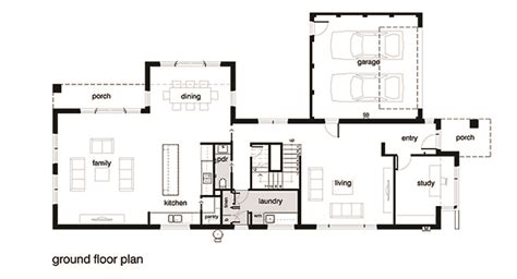 Modern Bathroom Floor Plans by Modern Style House Plan 4 Beds 2 5 Baths 3584 Sq Ft Plan