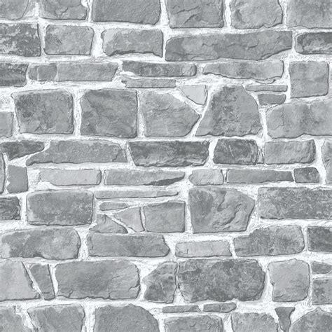 kitchen compost broken brick wallpaper grey wallpaper b m