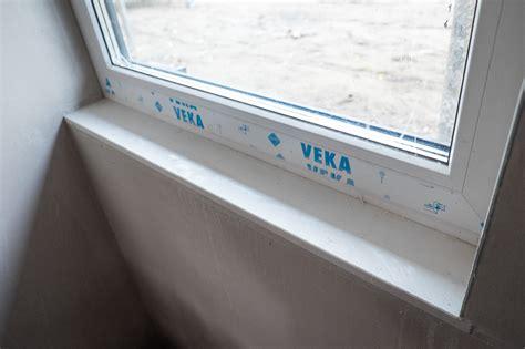 Schmale Fensterbank by Kw45 Innenputz Fertig Kanalarbeiten Auf Dem Weg Ein