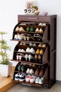 Rotating Closet Carousel by Solid Wood Rotating Shoe Rack Tipping Shoe Shoe Shoe