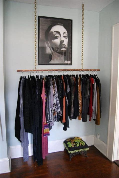 No Closet Space Solution by Best 25 No Closet Solutions Ideas On Diy